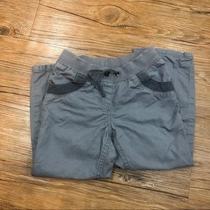 Gray Cotton Hanna Andersson Pants